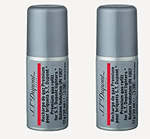 ST Dupont Multi-Fill Red Butane Gas Refill (30ml) TWO PACK