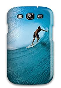 Case Cover Artistic Waves Surfing / Fashionable Case For Galaxy S3