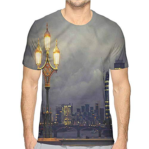Comfort Colors t Shirt Night,Westminster Bridge London t Shirt XL -