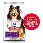 Hill's Science Diet Dry Dog Food, Adult, Sensitive Stomach & Skin, Chicken Recipe, 30 lb Bag