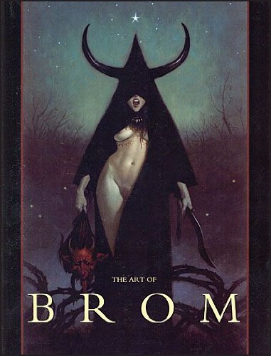The Art of Brom Nude Cover Limited Edition