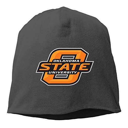 Caromn Oklahoma State University OSU Beanies Skull Ski Cap Hat Black