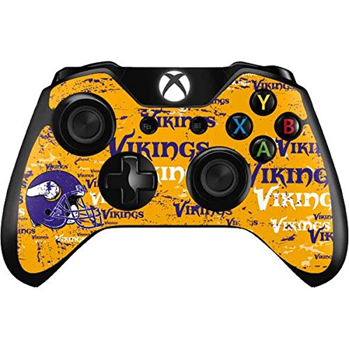 NFL Minnesota Vikings Xbox One Controller Skin - Minnesota Vikings - Blast Vinyl Decal Skin For Your Xbox One Controller