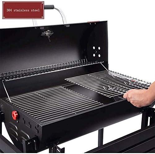 Lcxligang Barbecue, y Compris électriques Torréfaction de Soutien, Plaque en Acier épaissie, surdimensionné de Stockage Table, braisée