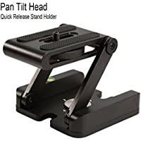 Dutiger 8609085 Quick Release Plate Stand Holder Camera Z Flex Folding Tilt Foldable Desktop Stand Holder Universal Tool for SLR