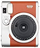 Fujifilm Instax Mini 90 Instant Film Camera (Brown)