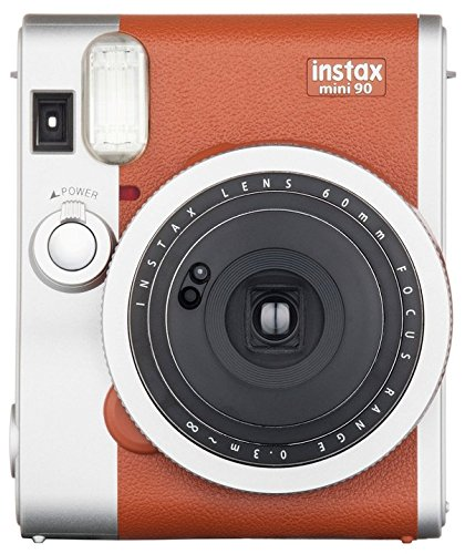 Fujifilm Instax Mini 90 Instant Film Camera (Brown)