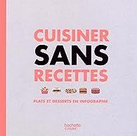 Cuisiner sans recettes : Plats et desserts en infographie par Bertrand Loquet