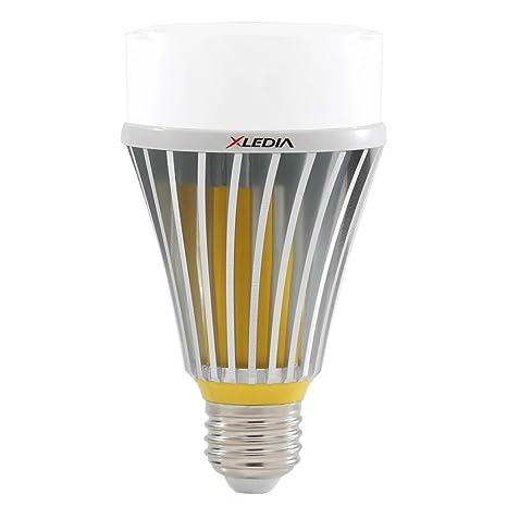 xledia LED luz bombilla d125l (125 W equivalente A21 2080 lúmenes luz blanca cálida Enclosed
