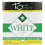 Touch Organic White Tea Cube, 100 Count, 7.05-Ounce Boxes (Pack of 4) by Touch Organic