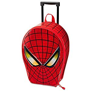 Disney Spider-Man Luggage Marvel - Deluxe Rolling Suitcase