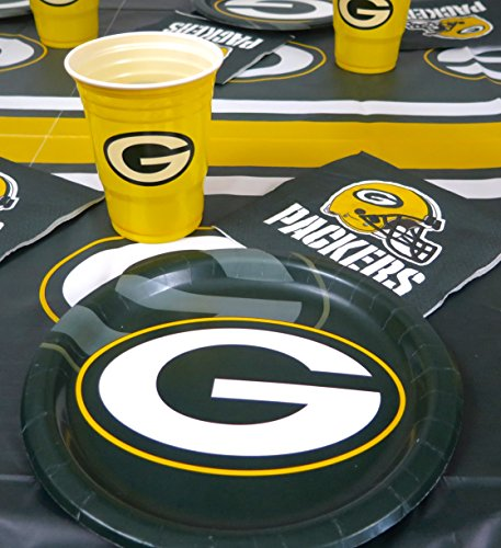 Green Bay Packers 4th Of July 49 Pieces Set, Tablecloth,16