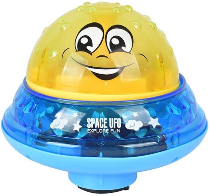 TRYSHA Bebé Baño de luz LED Musical Aerosol de Agua del Juguete del baño, el baño con niños estanco a Prueba de Agua de hidromasaje niños Juega el Regalo for Niños Niñas