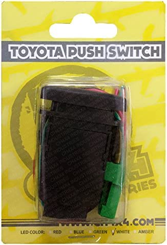 Amber LED CH4X4 Push Switch for Toyota Led Lights Symbol 2