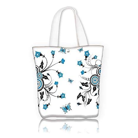 2f8bcd5df Amazon.com: Ladies canvas tote bag -W21.7 x H14 x D7 INCH/women ...