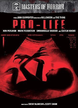 DVD : Masters of Horror: Pro-Life (DVD)