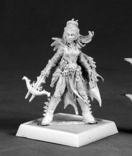 Reaper Miniatures 60054 Pathfinder Series Depora Azinrae, Dark Elf Miniature by Reaper