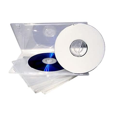 Amazon.com: yens® 25 Pack 14 mm Standard DVD Cases y ...