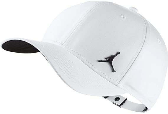 b5b5956fd2c promo code nike jordan jumpman clc99 metal unisex adult tennis cap white  one size amazon sports