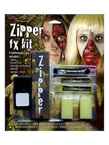 Zipper FX Makeup Kit Costume -