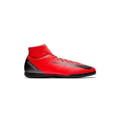 new style 0c522 e1414 Nike Men's SuperflyX 6 Club CR7 IC Shoes (Bright Crimson/Black Chrome) (