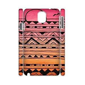 Aztec Tribal Pattern Custom 3D Cover Case for Samsung Galaxy Note 3 N9000,diy phone case ygtg537817