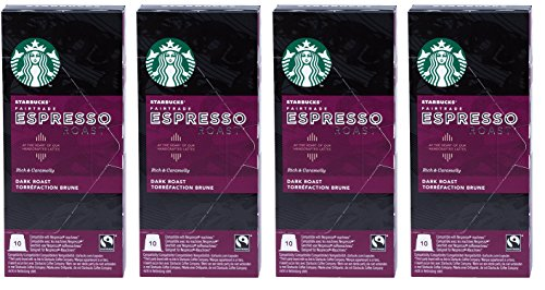 Starbucks Capsules Compatible with Nespresso Original - 40 Upon (Espresso Roast)