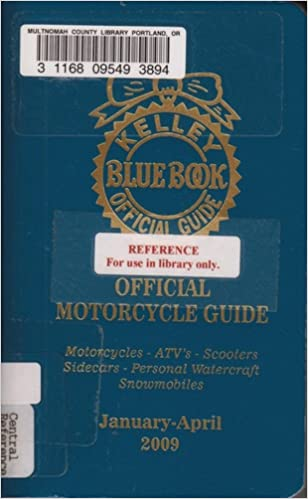 Kelley Blue Book Snowmobile >> Kelley Blue Book Official Guide Official Motorcycle Guide
