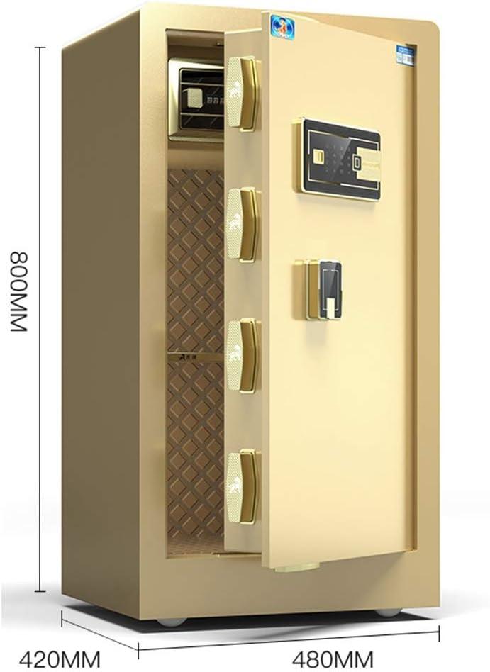 Cajas fuertes Caja fuerte electrónica for el hogar con caja mediana 80 cm grande for huellas dactilares caja fuerte for oficina gabinete invisible for huellas dactilares: Amazon.es: Bricolaje y herramientas