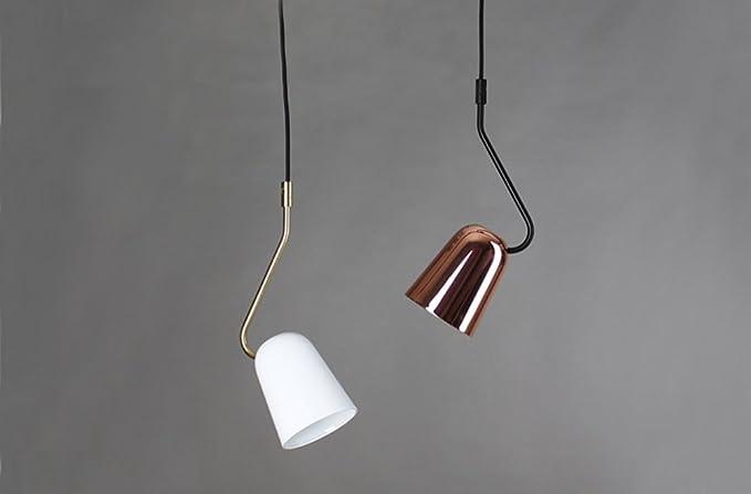 Zmh lampadario lampada a sospensione lampadari lampada da letto