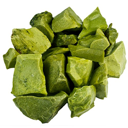 Hypnotic Gems 1 lb Bulk Green Opal Rough from Madagascar - Large 1