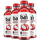 Bai Flavored Water, Sumatra Dragonfruit, Antioxidant Infused Drinks, 18 Fluid Ounce Bottles, 6 count