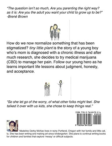 51gyqlPjtDL - tiny little plant: A family book about CBD for chronic pain (messy or difficult subjects)