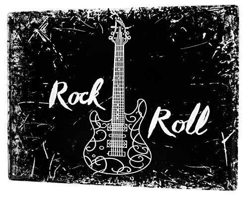 (LEotiE SINCE 2004 Tin Sign Metal Plate Decorative Sign Home Decor Plaques Bar Party Rock n roll)