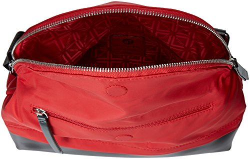 Nylon Key and Crossbody Rfid Lock Under Lodis Yukie Travel Red Kate F5wqgA