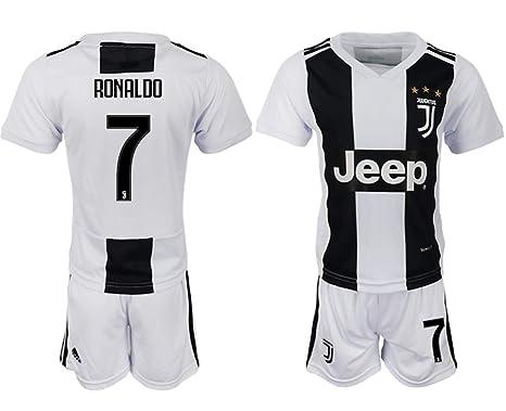0f1892471 Amazon.com  Marjor 2018 19 New Juventus Ronaldo Kid s Soccer Jersey ...