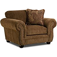 Simmons Upholstery Outback Chair, Chocolate