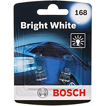Bosch 168 Bright White Upgrade Minature Bulb, Pack of 2