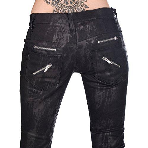 Aderlass donna Aderlass Pantaloni neri Pantaloni da TBf8znwq