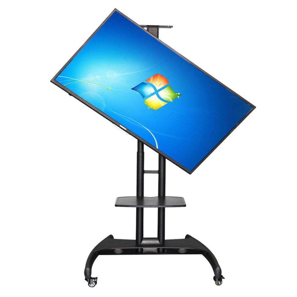 可動式 Tv の立場、46-65 インチ LCD TV の移動式カートは家、オフィスまたは他の広い部屋のための90度の移動式ブラケットを回す   B07K6MF5Y6