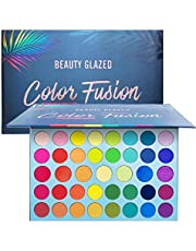 39 Color Rainbow Eyeshadow Palette - Professional Makeup Matte Metallic Shimmer Eye Shadow Palettes - Ultra Pigmented Powder Bright Vibrant Colors Shades Cosmetics Set