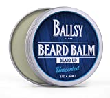 Cheap BALLSY All-in-One Best Beard Balm Shea Butter Conditioner – Unscented All Natural Organic Argan & Jojoba Oil & More – Promotes Beard Growth, Softens & Strengthens Beards and Mustaches