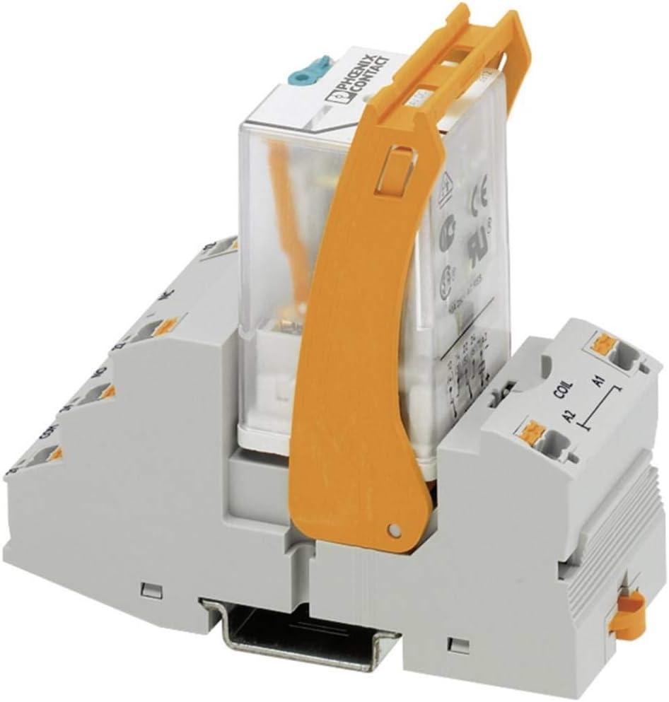 Phoenix 2903297 alimentación del relé Gris, Naranja - Relé de potencia (Gris, Naranja, 24 V, -40-60 °C, 40 x 90 x 103 mm, 163,8 g)