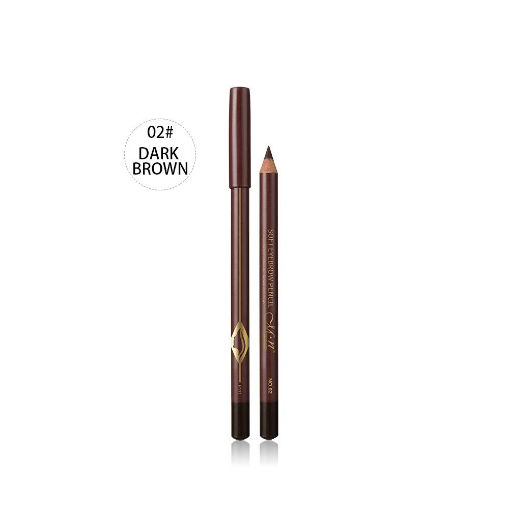 S.H.EEE Waterproof Eye Brow Eyeliner Eyebrow Pen Pencil With Brush Makeup Tool (B)