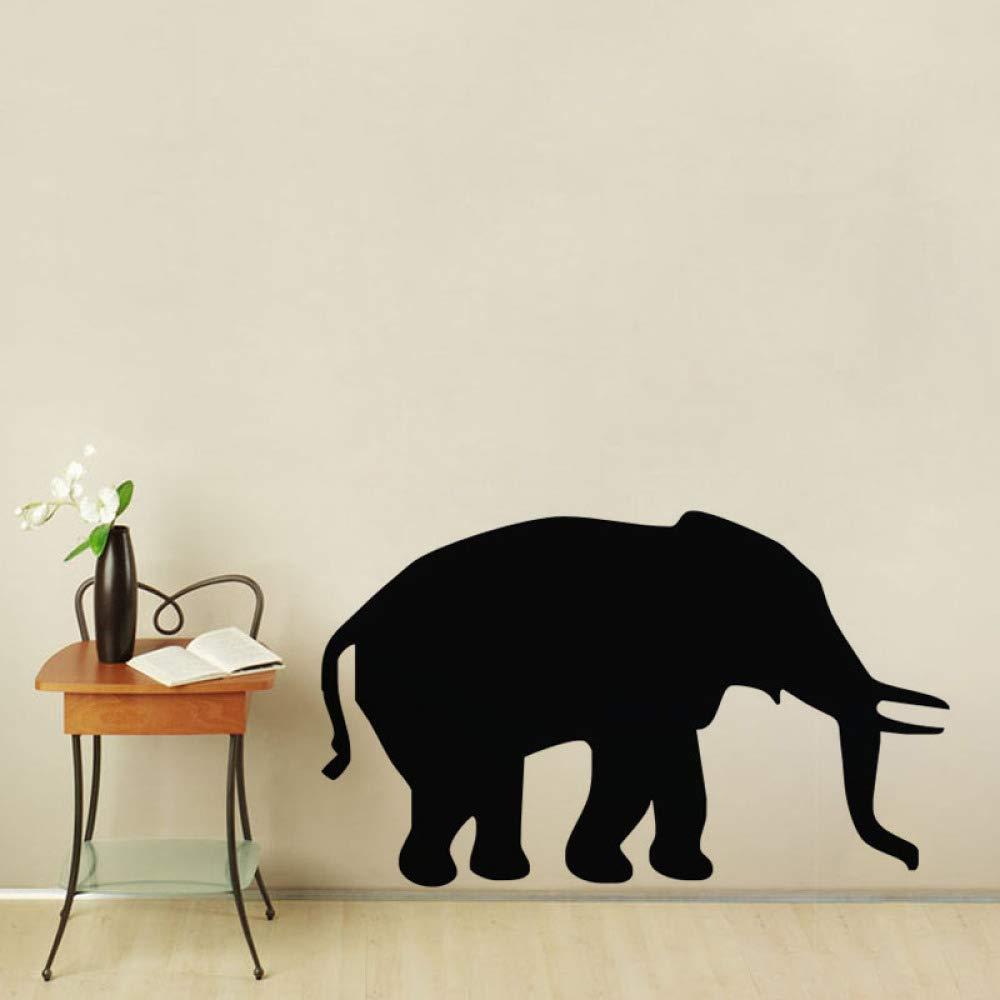 Silueta de elefante Tatuajes de pared Habitación infantil ...
