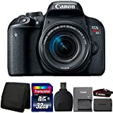 Canon EOS Rebel T7i 24.2MP DSLR Camera with 18-55mm IS STM Lens and Accessory Bundle