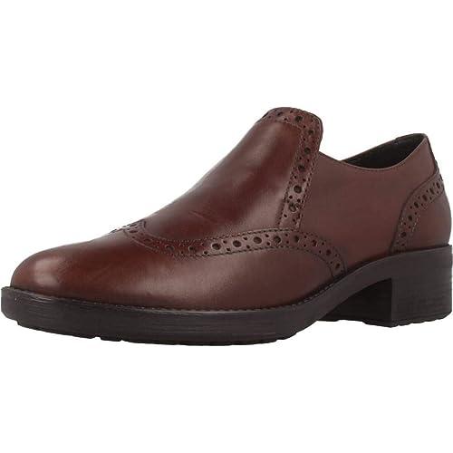 Mocasines para Mujer, Color marrón, Marca GEOX, Modelo Mocasines para Mujer GEOX D ETTIENE Marrón: Amazon.es: Zapatos y complementos