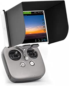 L200 FPV Phone Monitor Sun Shade Cover Tablet Sun Hood for DJI Mavic 2 Pro/Zoom,Phantom 4/3,Mavic Pro,Inspire,OSMO,M600 Monitor Remote Controll for Ipad Air/Air 2/,Samsung Galaxy Tab S3/S2