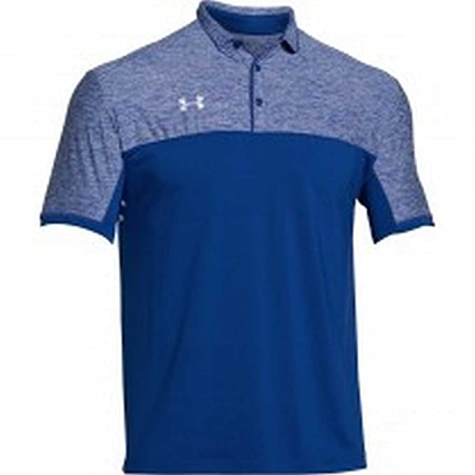 Under Armour Polo de podio para Hombre: Amazon.es: Deportes y aire ...