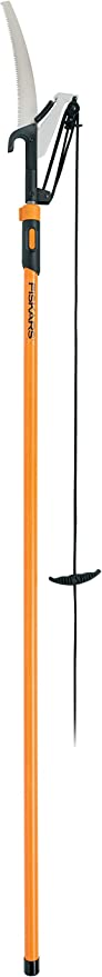 Fiskars 12 Foot Extendable Pole Saw & Pruner - Lifetime Warranty Choice